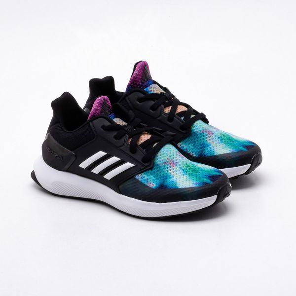 df8384fd6 Tênis Adidas Infantil Rapidarun X K Preto
