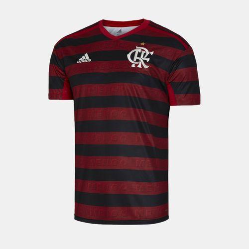 75c7cae7f Camisa Adidas Flamengo 2019 I Vermelha Masculina