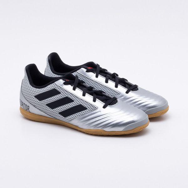 2c5bc1a20c Chuteira Futsal Adidas Predator 19.4 IN Cinza