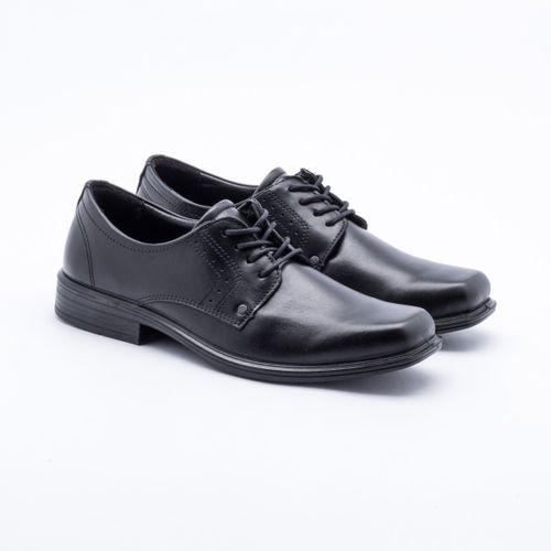 Sapato Social Pegada Couro Preto Masculino