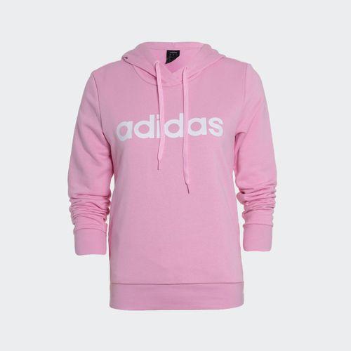 Blusão Adidas Essentials Linear Rosa Feminino