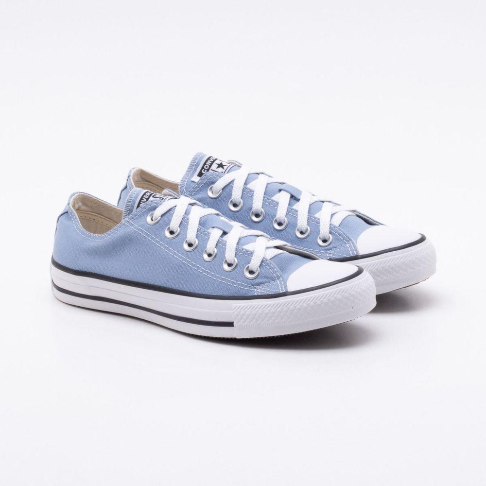 d2a2c714a Tênis All Star Converse Chuck Taylor Azul Azul e Branco - Gaston - Gaston