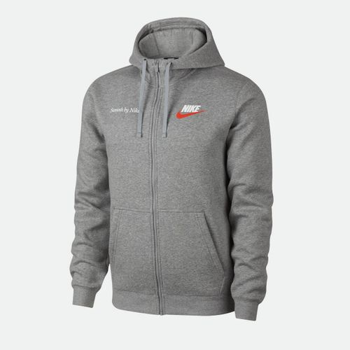 0a7b54c34 Jaqueta Nike Sportswear Just Do It Fleece Cinza Masculina