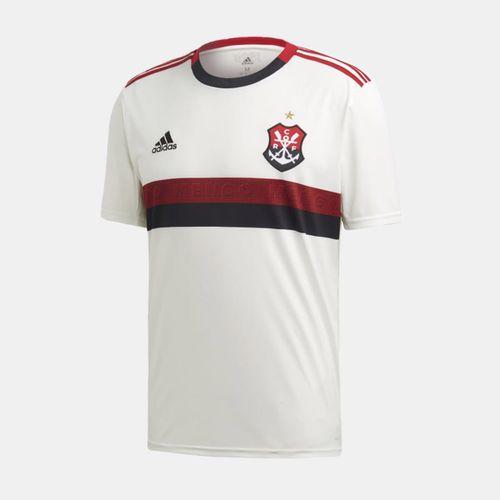 8076d491db80e Camisa Adidas Flamengo 2019 II Branca Masculina
