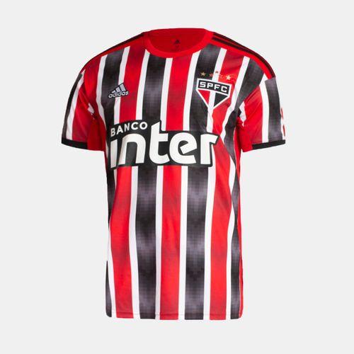 1fa33efd1e Camisa Adidas São Paulo 2019 II Vermelha Masculina