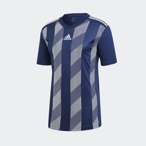 2aa4d346b4970 Camisa Adidas Striped 19 Azul Masculina