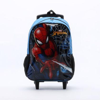 Mochila Xeryus Infantil Spider-Man Azu...