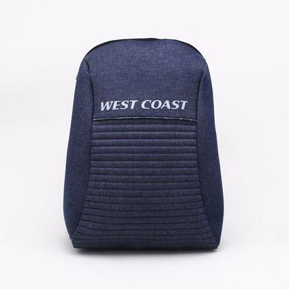Mochila West Coast Jeans Azul - Único