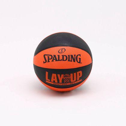 Mini Bola Basquete Spalding Lay-Up Laranja - Único