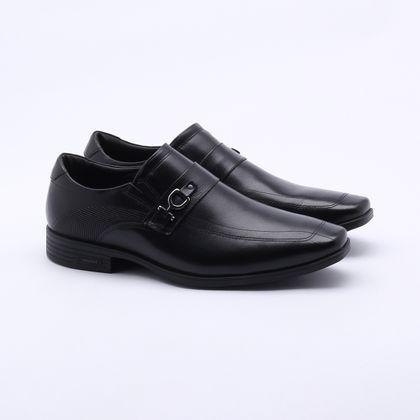 Sapato Social Ferracini Leblon Couro Preto