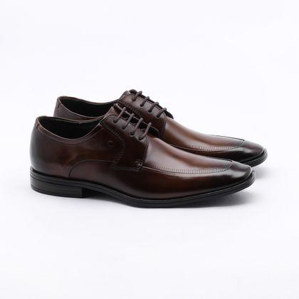 Sapato Social Democrata Tompson Marrom Masculino