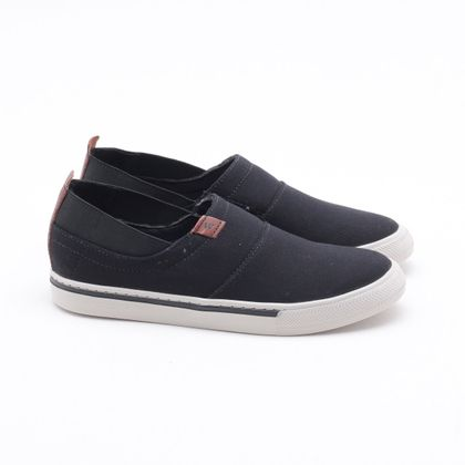 Sapatênis West Coast Phillip Canvas Preto Masculino