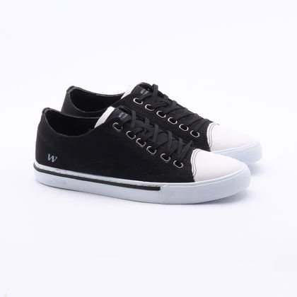 Sapatênis West Coast Philip Canvas Preto Masculino