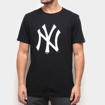 Camiseta New Era Essentials Tri Neyyan Preta Masculina