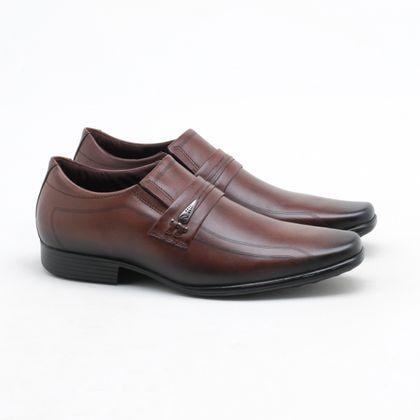 Sapato Social Pegada Milano Pinhão Masculino