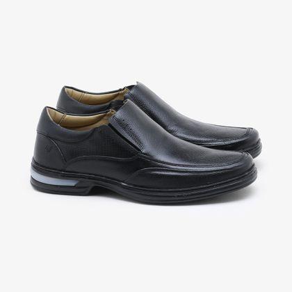 Sapato Social Rafarillo Couro Preto Masculino