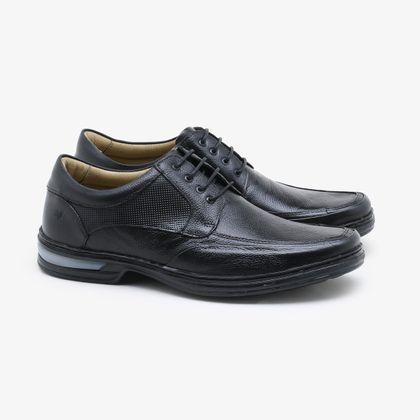 Sapato Social Rafarillo Couro Preto